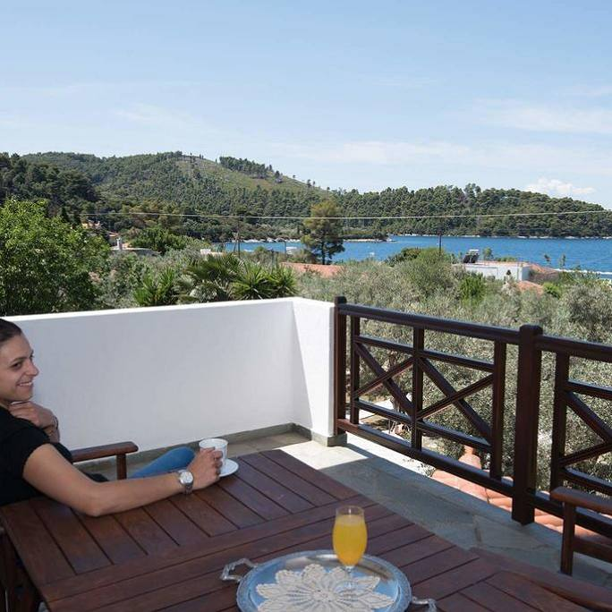 Room at Skopelos Niki Studios and Apartments